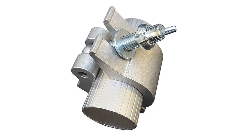 Half Coupler with wing nut