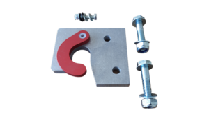 Platform Hook and Safety Lock with nuts, bolts and washers