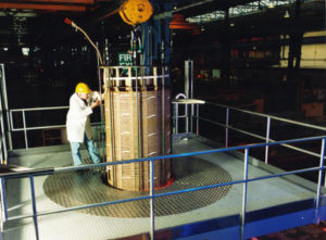 Hydraulic Platform with Fixed Steel Base