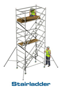 Aluminium Stairladder Tower