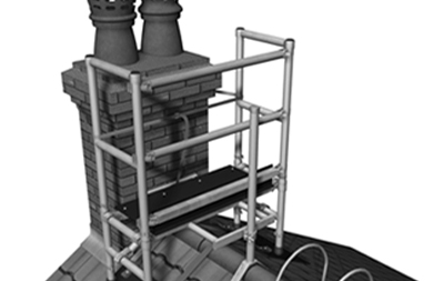 Chimney Roof & Access Ladders